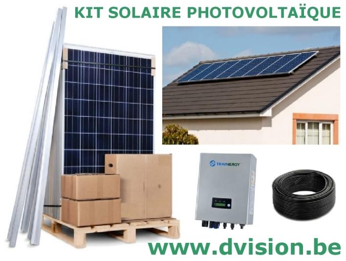 kit panneau solaire autoconsommation kit solaire 3420w autoconsommation enphase plug play kit. Black Bedroom Furniture Sets. Home Design Ideas